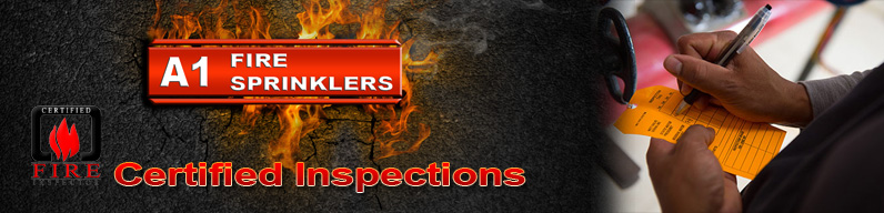 Certified Fire sprinkler inspections