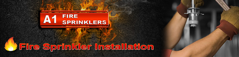 Professional fire sprinkler installation